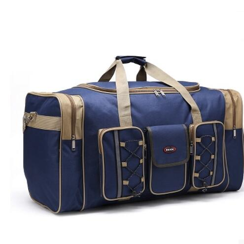 Durable New Multicolor Canvas Foldable Luggage Travel Bags Duffel Bag Large Cpacity Men Women Travel Handbags m large duffel bag travel bags