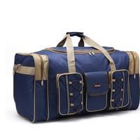 Durable New Multicolor Canvas Foldable Luggage Travel Bags Duffel Bag Large Cpacity Men Women Travel Handbags