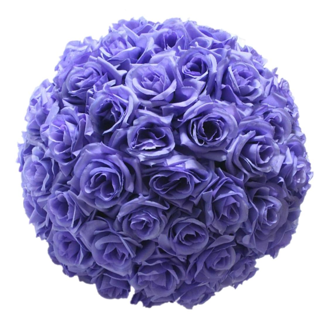Ksol 820cmtiffany Blue Wedding Rose Silk Flower Ball Centerpieces