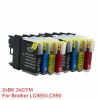 LC980 LC985 LC975 Cartucce di Inchiostro Compatibile Per Stampanti Brother DCP-J140W DCP-145C DCP-165C DCP-195C DCP-197C DCP-365CN