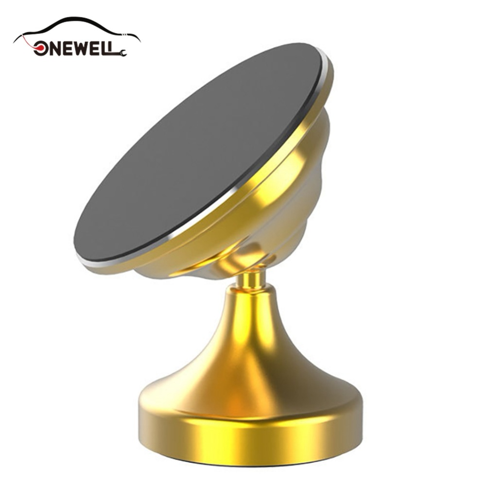 ONEWELL Best Nano Micro Suction Non Magnetic Car Phone Holder Stand Center Console Mount Multifunction Car Navigation Bracket