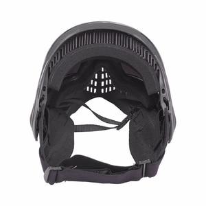 Image 4 - Fma Outdoor Airsoft Tactical Eyewear Ski Jacht Oorlog Spel Anti Fog Beschermende Goggle Volgelaatsmasker Met Reflecterende Lens FM 0024