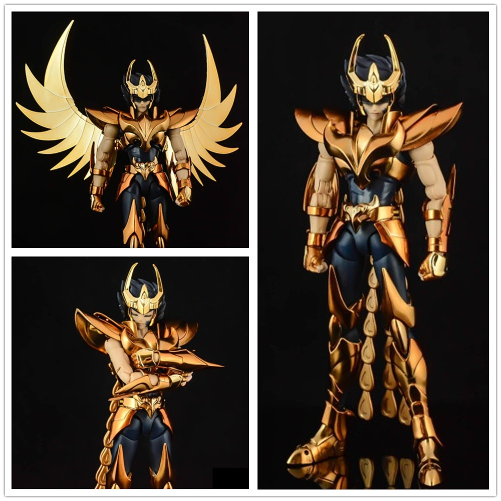 GT TD Great Toys Saint Seiya Cloth Myth EX Bronze Gold Final Phoenix Ikki model metal Cloth SG029-in Action & Toy Figures from Toys & Hobbies    1