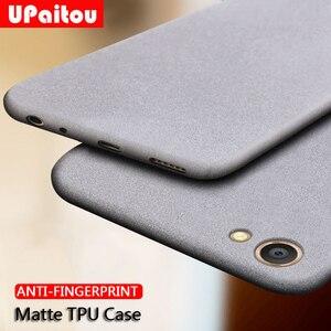 UPaitou Case for OPPO A3S A3 A1 F7 F5 Youth F3 Plus F1S F9 Pro Anti Fingerprint Case Soft Silicone Matte Ultra Thin TPU Cover(China)