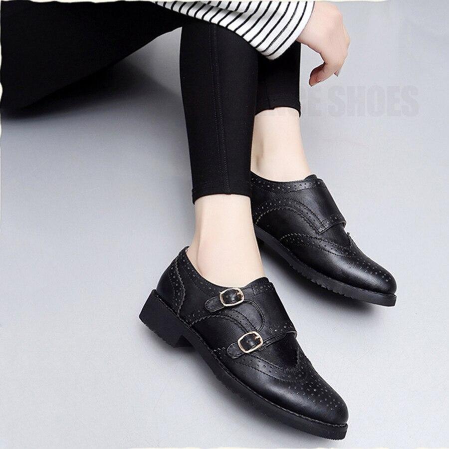 Ayakk.'ten Kadın Topuksuz Ayakkabı'de Kadın hakiki deri püskül brogue oxford ayakkabı kadın gümüş kahverengi el yapımı vintage retro rahat düz ayakkabı kadınlar için'da  Grup 1