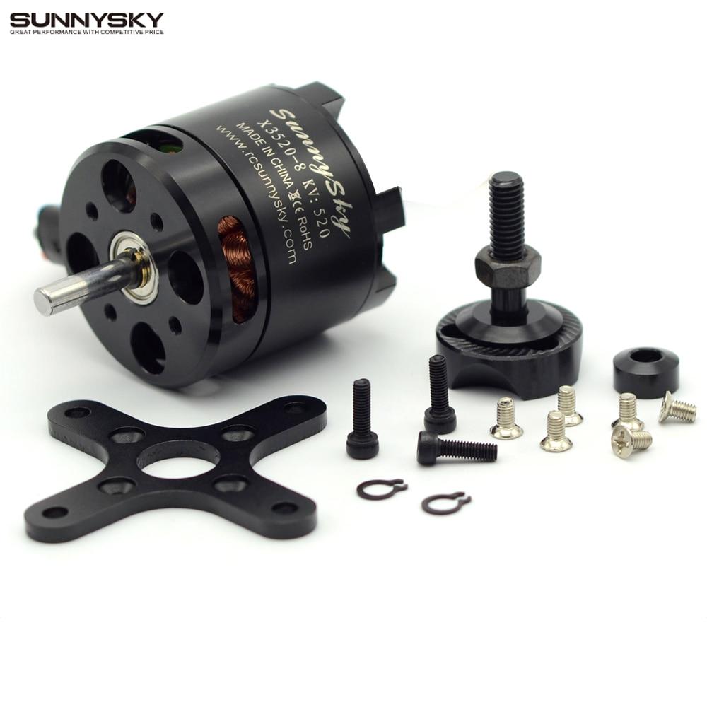 Sunnysky X3520 KV520 KV720 KV880 6S Brushless Motor For RC Models FPV Quadcopter drones