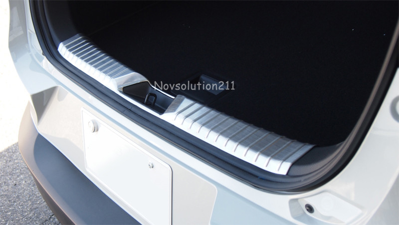Inner Rear Bumper Guard Cover Trim 1pcs Stainless For Mazda CX-3 CX3 2015 2016 free shipping 604 full zro2 ceramic deep groove ball bearing 4x12x4mm good quality high qaulity by haokun