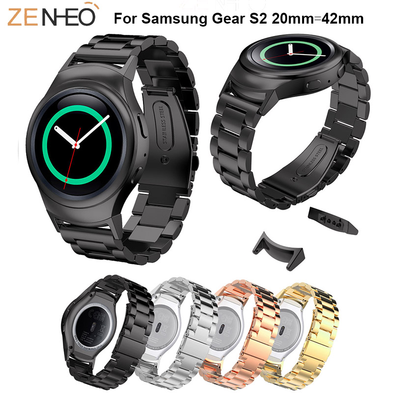 Colorful WatchBand Stainless Steel Wrist For Samsung Gear S2 Watch 42mm Strap For Samsung Gear S2 Smart Watch Bracelet wristbandColorful WatchBand Stainless Steel Wrist For Samsung Gear S2 Watch 42mm Strap For Samsung Gear S2 Smart Watch Bracelet wristband