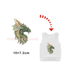 eb024898d Patches Iron-on Transfer Dragon Unicorn Oryx Mythical Creature Thermal  Transfer Ironing Washable Sticker For