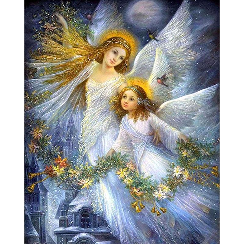 Сверкающие картинки ангелы