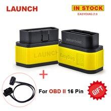El más nuevo Lanzamiento X431 Easydiag 2.0 Autosacanner Original Easydiag Lanzamiento Fácil diag OBD2 ODB 2 Cable de Diagnóstico Del Escáner Envío como Regalo