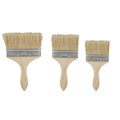 7pcs Set High quality nylon Mao Banshua oil paint brush artists BBQ brush for painting art Easy To Clean wooden cleaning brush in Fireplace Sets Accessories from Home Improvement