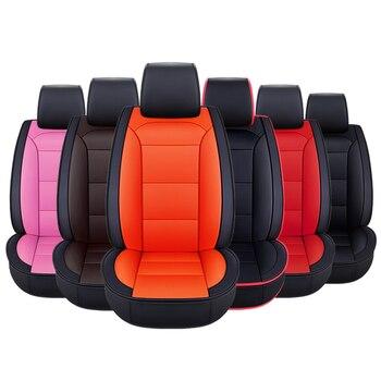 2018 new universal leather car seat cushions for hyundai solaris Elantra tucson Zhiguli veloster getz creta i20 i30 ix35 styling