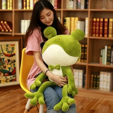 55/65 Cm Mr Frog Plush Toy Green Frog Stuffed Animal Plush Toys Kermit The Frog Brand For Children  New Style стоимость
