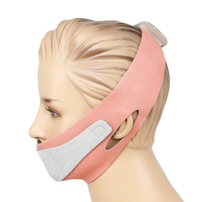 Face Slim V-Line Lift Up Mask Cheek Chin Neck Slimming Thin Strap Anti-Wrinkle Facial Thin Face Mask Bandage Belt Face Braces