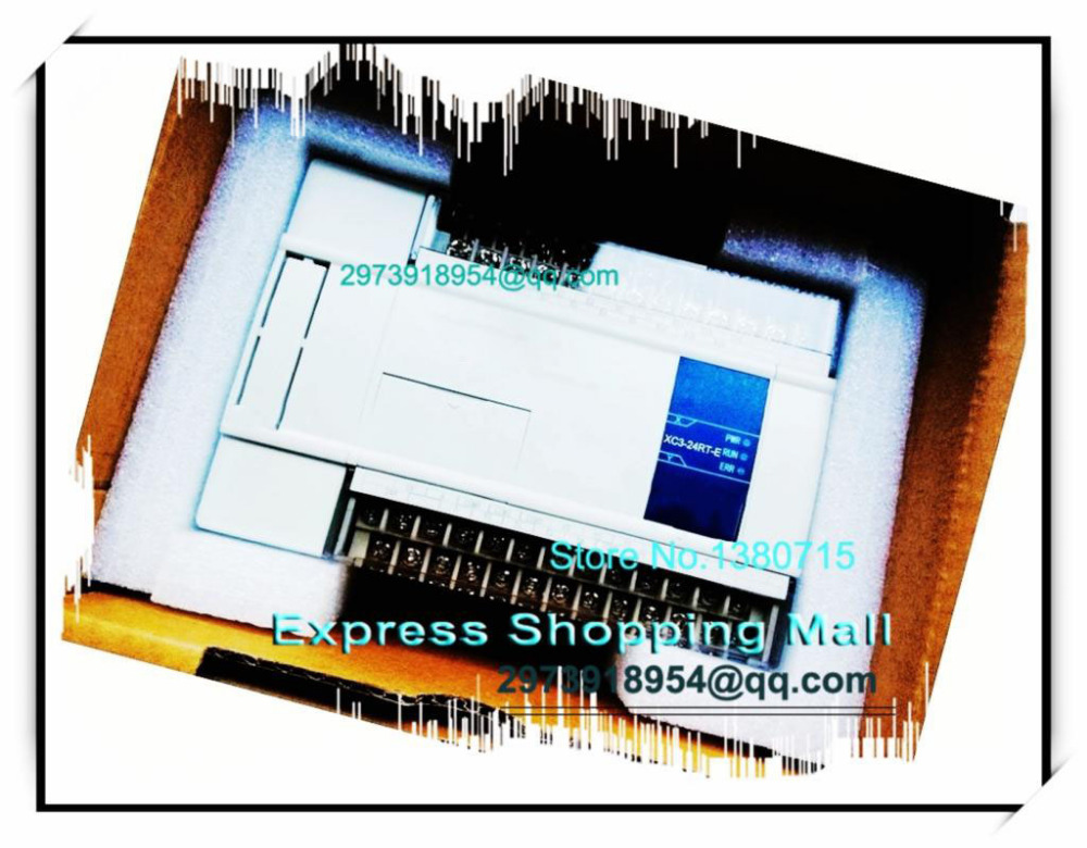 NEW XC3-24RT-E PLC CPU AC220V 14 DI NPN 10 DO Relay&Transistors