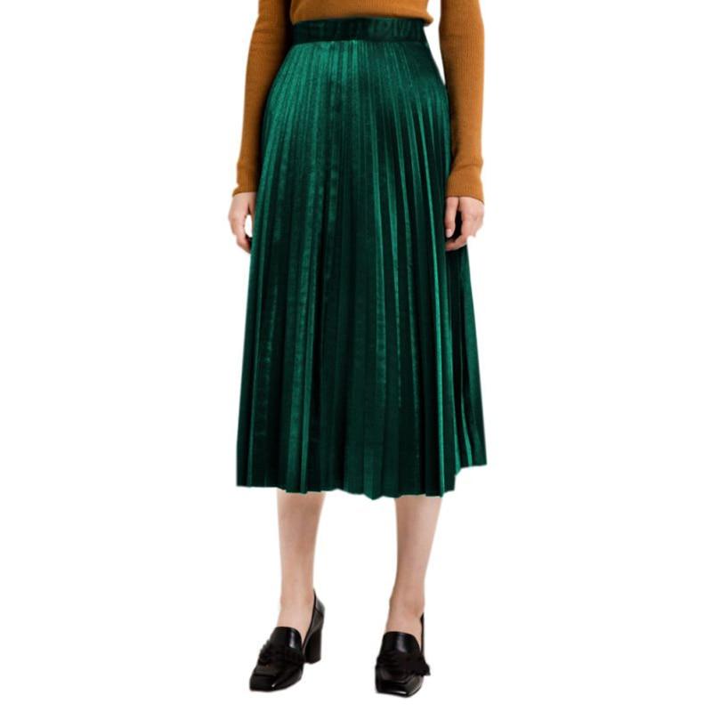 Длинные юбки зима доставка