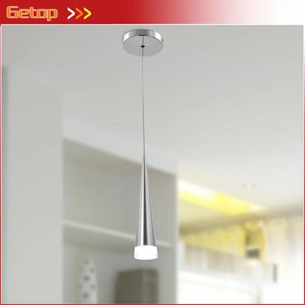 Getop Modern Single-head LED Acrylic Pendant Light Max Chrome Lighting Fixture for Restaurant Dinning room Bar 5WGetop Modern Single-head LED Acrylic Pendant Light Max Chrome Lighting Fixture for Restaurant Dinning room Bar 5W