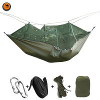 Travel Bug Net Camping Hammock 300kg Load Capacity 275 X 140 Cm Breathable 2 Person Outdoor