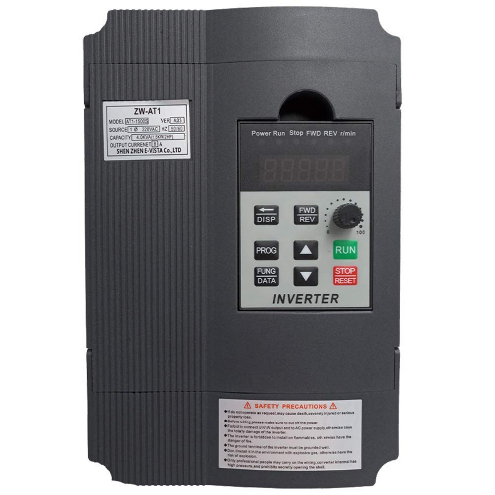 VFD Inverter frequency Converter CoolClassic ZW AT1 1 5kw input 220v single output 3phase 220v Feee