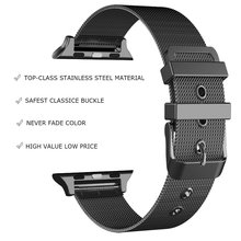 New Milanese Loop Iwatch Band With Classic Buckle for Apple Series 3/2/1