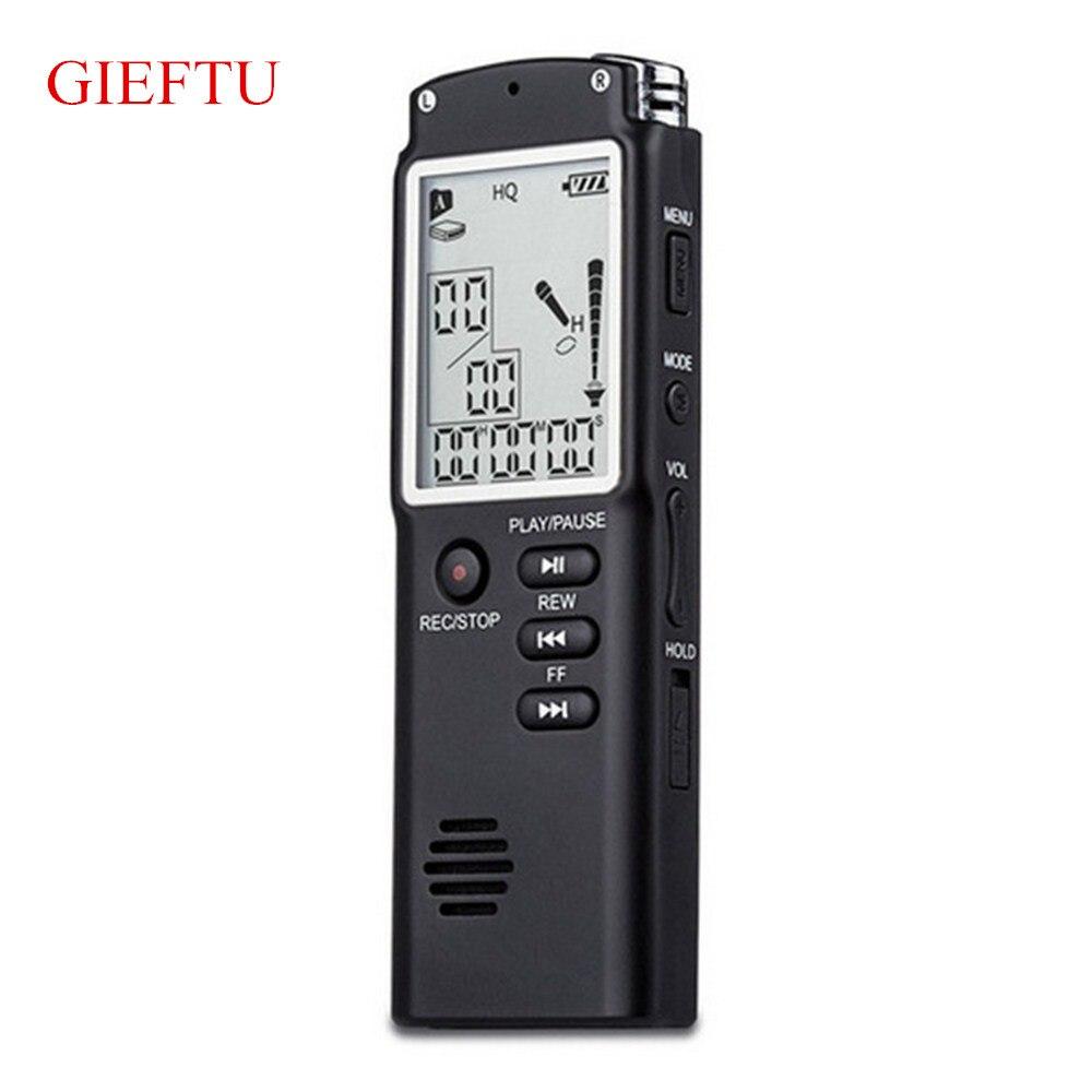 8 ГБ Профессиональный T60 время Дисплей Запись цифровой Голос Аудио Регистраторы диктофон MP3-плееры