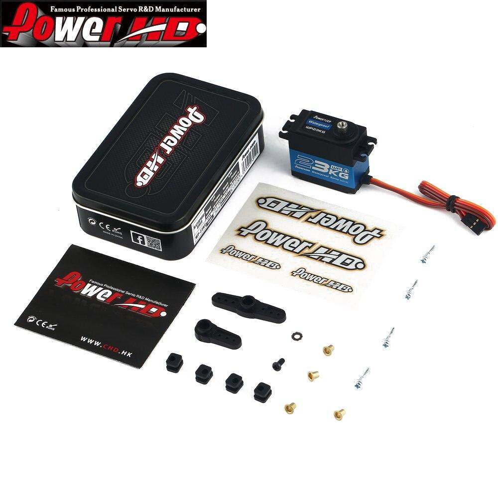 1pcs 100 Original Power HD WP 23KG Waterproof Digital Servo 23kg 75g for Crawler Buggy