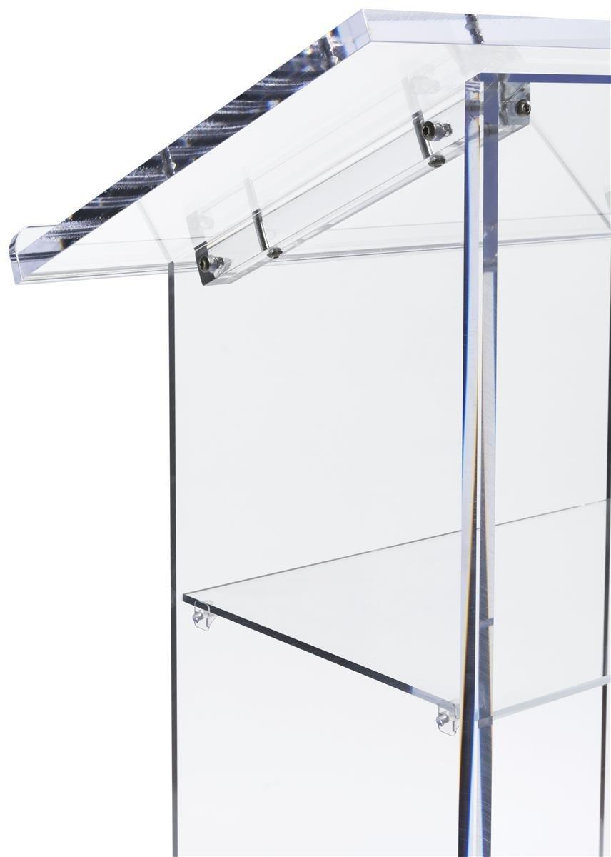 Atril de acrílico transparente, pódio de apresentação com - Mobiliário - Foto 3