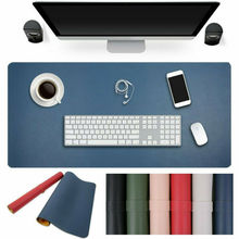 лучшая цена UK Ultra Large Mouse Pad Mat Gaming Desk Leather Writing Mat Home Office Use