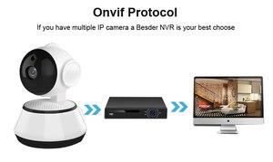 Image 4 - Wofea câmera de segurança em casa ip sem fio inteligente wi fi câmera gravação áudio vigilância monitor do bebê hd mini câmera cctv icsee