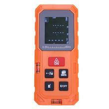 Discount! 60M/197ft Handheld Digital Laser Range Finder Volume Distance Area Meter Battery-powered Measure Tool