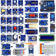 Adeept DIY Electric Ultimate Sensor Modules Kit for Arduino UNO R3 with Guidebook Processing FreeShipping Book