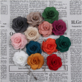 New Fashion Handmade Cute Flower Elegant Camellia Brooches Pin For Men and Women Suit Accessories