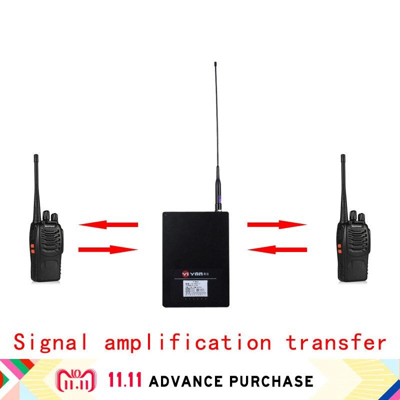 Walkie Talkie Repeater Car Radio Station Transceiver For Baofeng Purse Telsiz 10 Km Walkie-talkies Hunting Intercom Ham Zastone