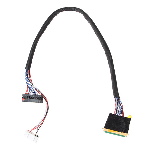 1PC New Arrival 40 Pin 1 Channel 6 Bit LED LCD LVDS Screen Cable For Display