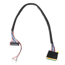 1PC New Arrival 40 Pin 1 kanał 6 Bit ekran LCD LVDS kabel ekranu do wyświetlania(China)