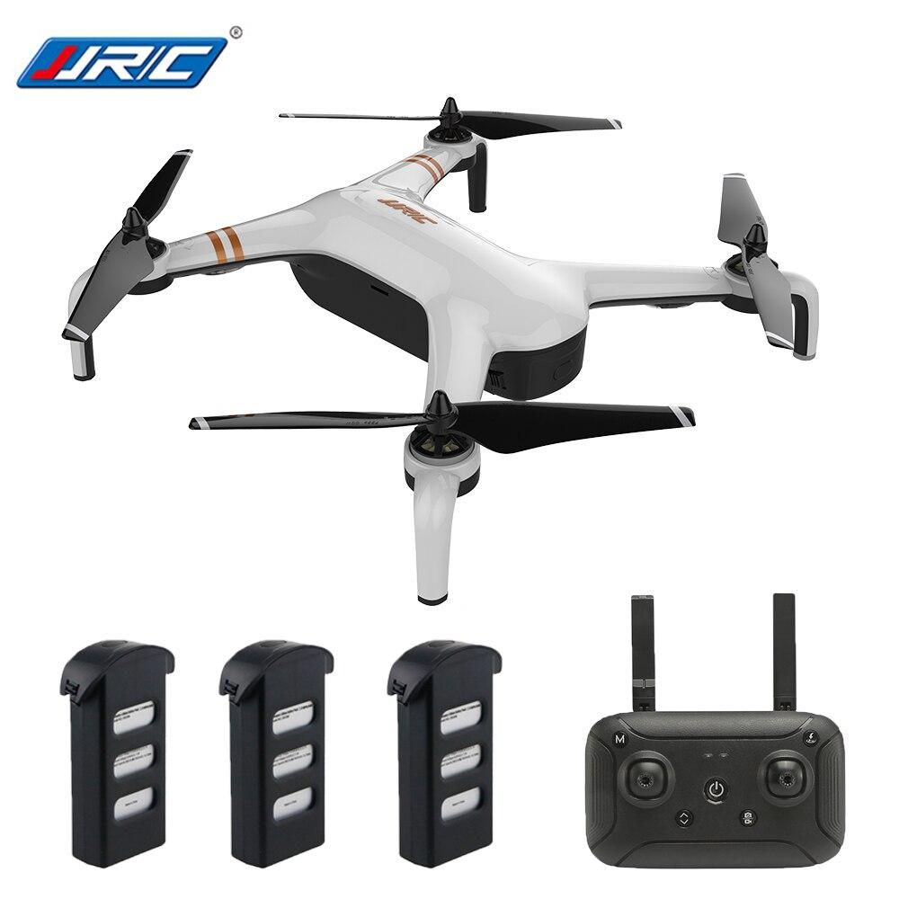 JJRC X7 SMART Double GPS 5G WiFi 1080P FPV Brushless RC Drone - RTF Gimbal 23mins Flight Quadcopter Waypoint One Key 3 Batteries