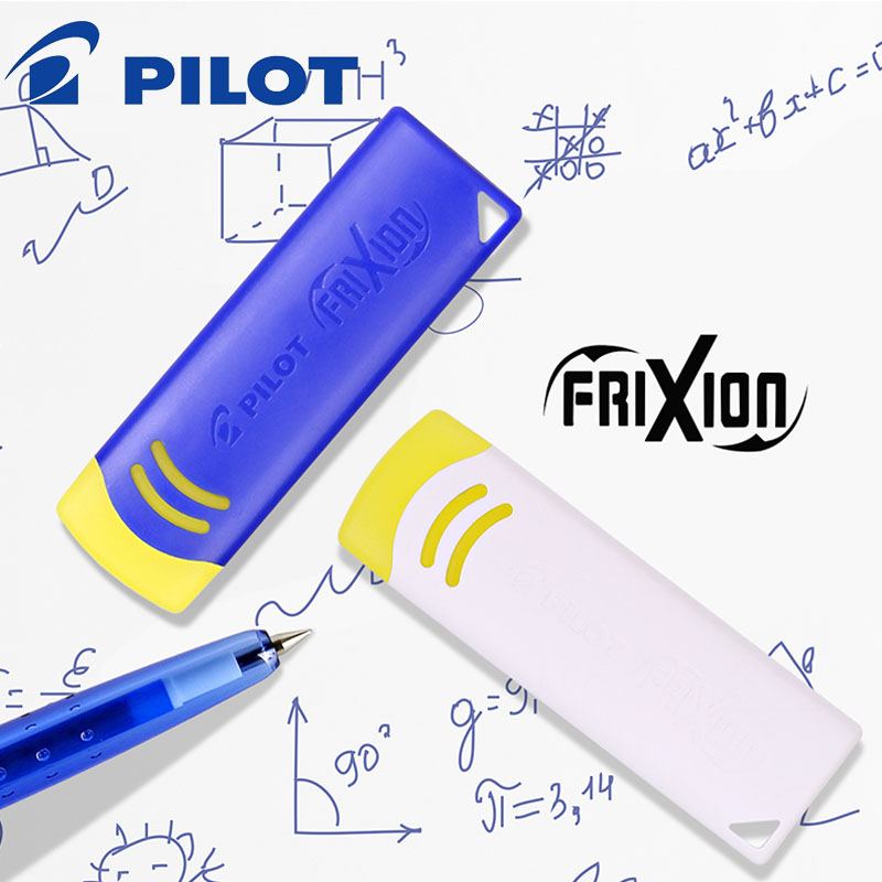 2pcs Japan PILOT EFR-6  Erasable Rubber  Frixion Series Friction Eraser Blue/White Erasable Pen Special Eraser Wipe Clean Withou