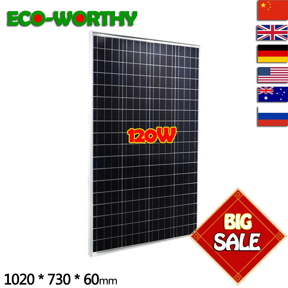 120W 18V Poly Solar Panel A class battery charge for Caravan Boat Home off grid solar energy system solar cell solar panel120W 18V Poly Solar Panel A class battery charge for Caravan Boat Home off grid solar energy system solar cell solar panel