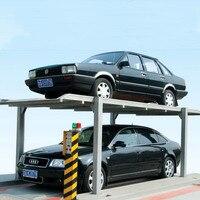 Автомобиль подъемная платформа лифта гараж стерео гараж платформы подъемного оборудования два этажа подъемные машины