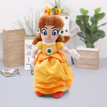 20CM New Stuffed Toys Super Mario Bros Plush Yellow Princess Peach Daisy Peluche Soft Doll Toy Cute Gifts Free Shipping цена 2017