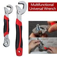 Multi-Função Universal Chave Conjunto Chave de Aperto Ajustável 8-32mm Ratchet Wrench Spanner Ferramentas Manuais