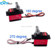 4pcs/lot 270 Degree 180 Digital Servo Motor DS3218 Waterproof Metal Gear 25T Arm