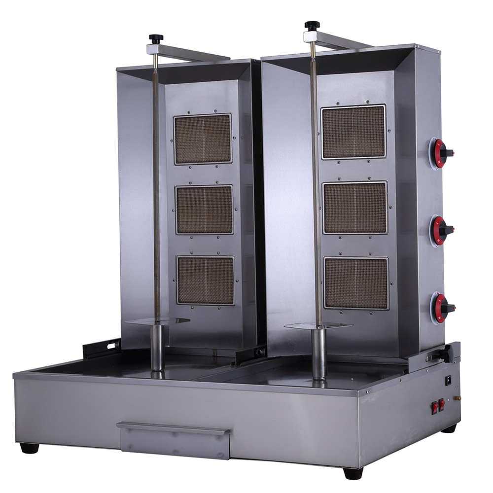 Image gallery shawarma equipment for B kitchen glass grill