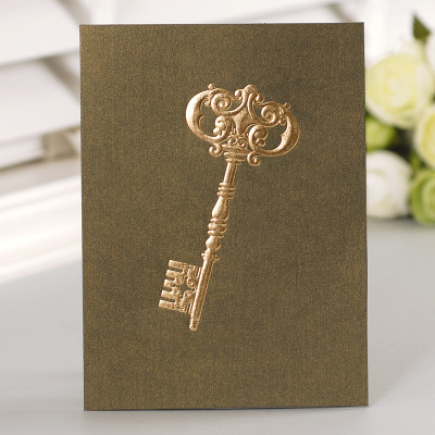 12set fairy tale theme key Card leave message cards Lucky Love