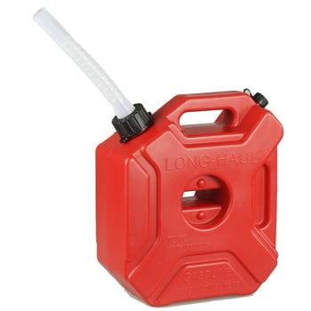 5L Spare benzine emmer Anti-statische plastic benzine kan Auto en motorfiets reserve brandstoftank Auto reserve brandstoftank vaten van benzine
