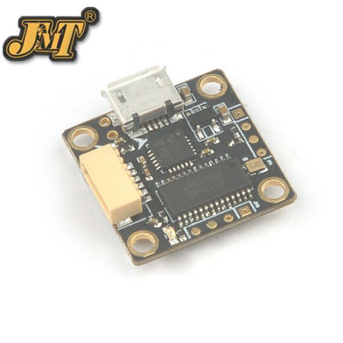 F21741 JMT Teeny1S F3 16*16mm Betaflight STM32F3 OSD BEC Flight Controller  model  for RC Drone Quadcopter jmt betaflight omnibus f3 pro flight controller built in osd bec current sensor for diy rc drone quadcopter