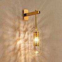 Eusolis Nordic Moderne Настенные светильники для дома Lamparas де сравнению Arandela лампада светодио дный LED для дома освещение Luminarias де Inte