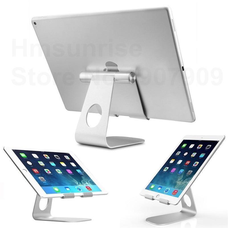 Hmsunrise tutucu ipad için Çok Açılı Taşınabilir Alüminyum Tablet Samsung Tablet için Standı dock için huawei pad braketi için iphone