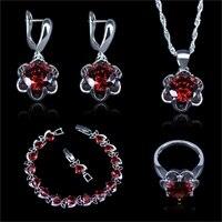 prata cor conjuntos de jóias brincos anéis